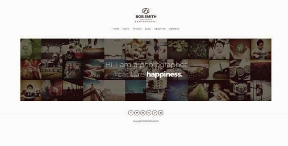 Free Photography WordPress Theme 2015