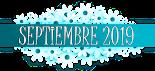 Novedades de septiembre 2019