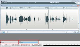 menambahkan musik background pada suara rekaman