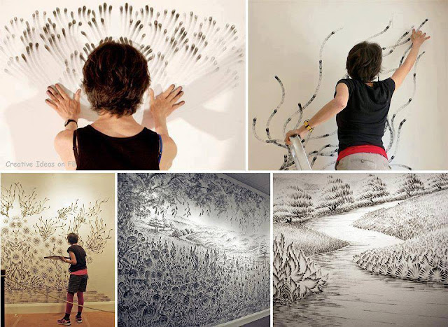 finger paintings art