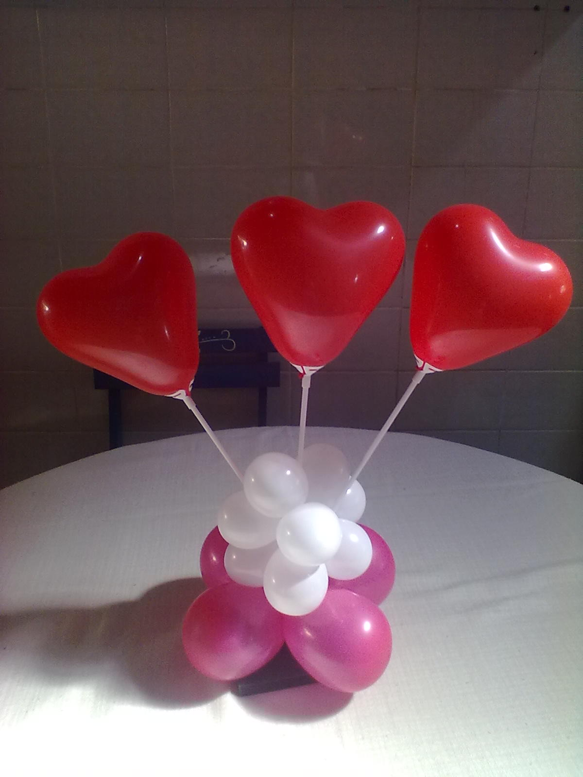 Namorados Para Incluir Mais Sugestoes De Centros De Mesa De Coracao