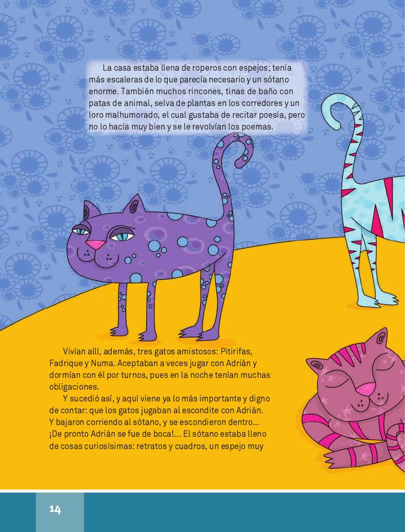 El pizarrón encantado - Español Lecturas 4to 2014-2015