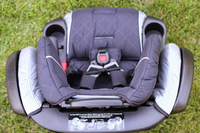 Britax Pinnacle 90 Car Seat #Review Top View