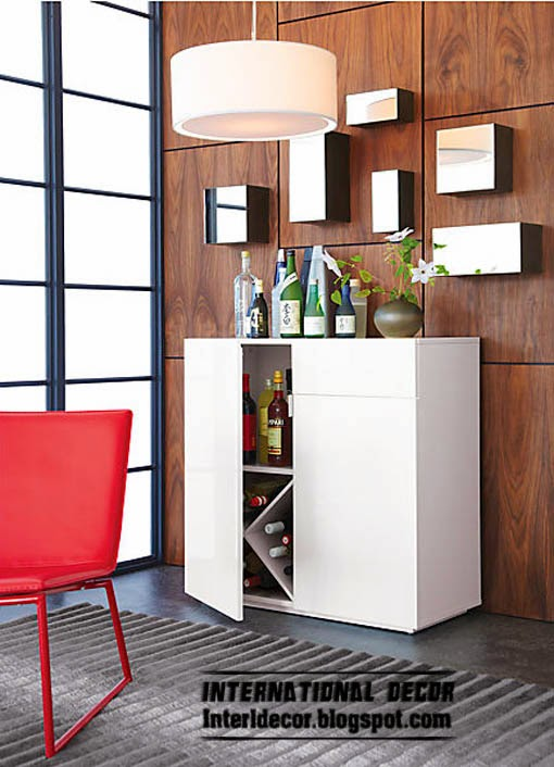 Bar cabinets and Wine racks for modern home