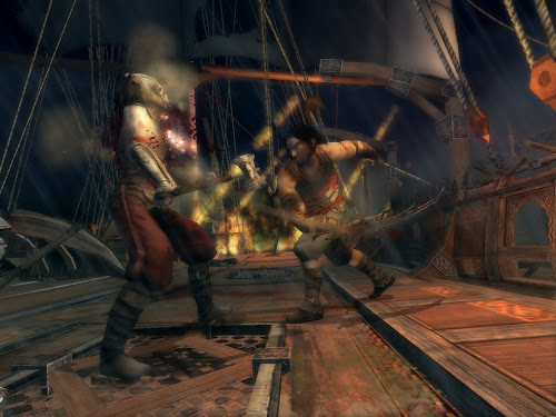 Screen Shot Of Prince of Persia Warrior Within (2004) Full PC Game Free Download At Downloadingzoo.Com