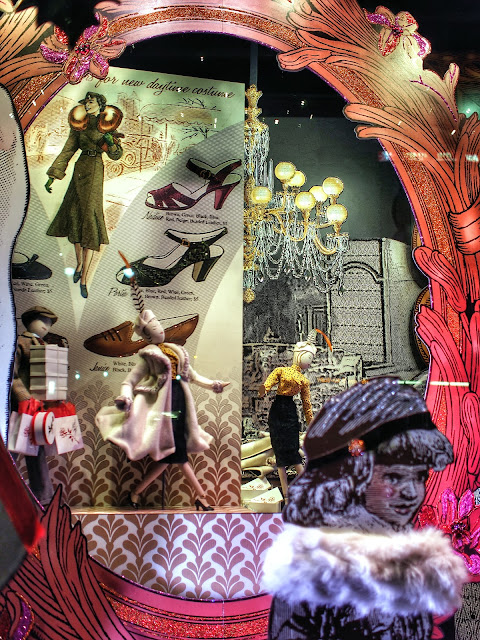Holiday Shoe Shopping, Lord & Taylor, #5thAvenueWindows NYC 2013