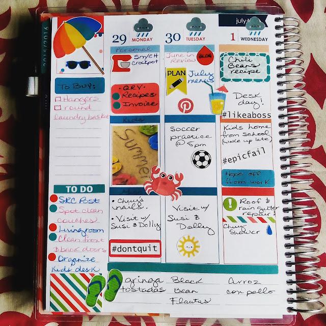Erin Condren Life Planner (week 1) - lacasadeleslie.com