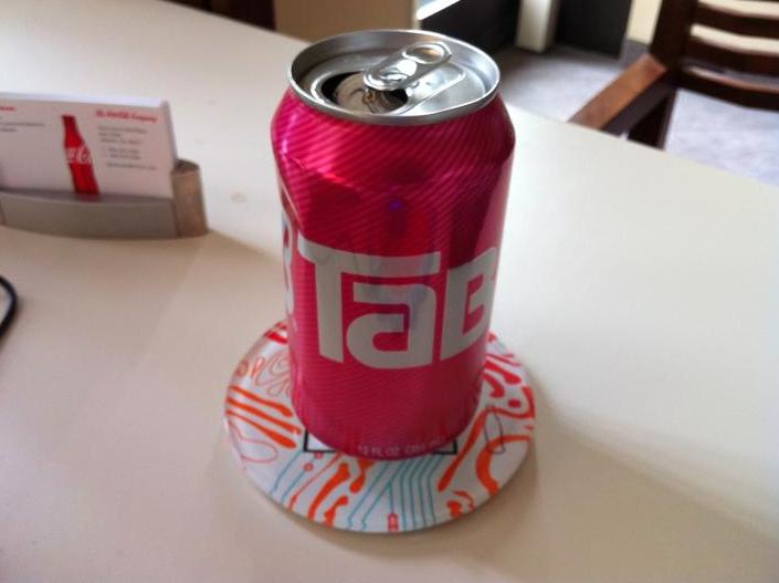 TaB, my eponymous drink