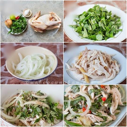 Món Gà Trộn rau răm - Đơn giản mà ngon 1