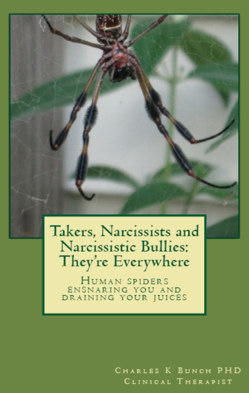 Spiders and Human Takers: Book of Their Abuse Cycles