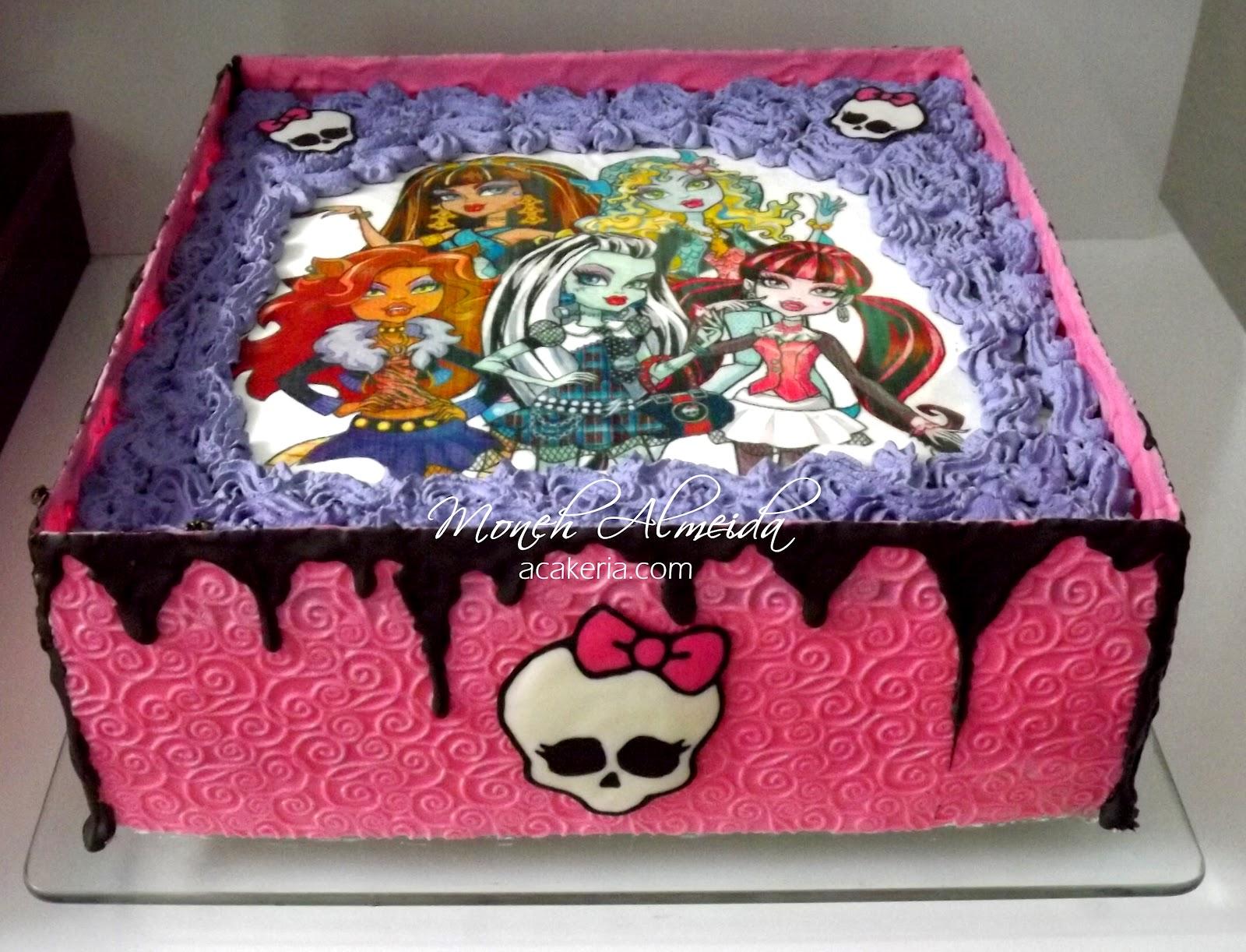 Bolos De Monster High