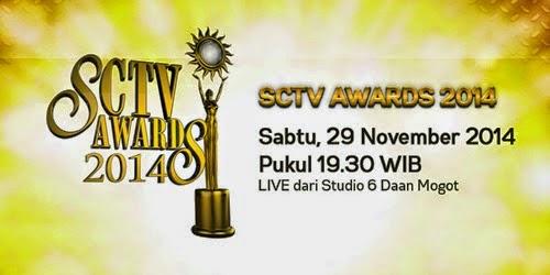 Daftar Pemenang Nominasi SCTV Awards 2014