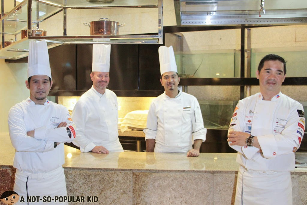 The Chefs behind the brilliant creations - Mercado, Impressions. Cafe Maxims and The Terrace