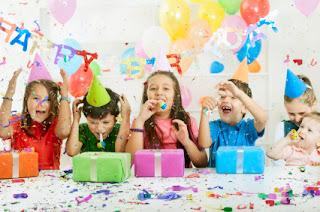 Artigos para festa infantil: Fotos de crianças festejando aniversário