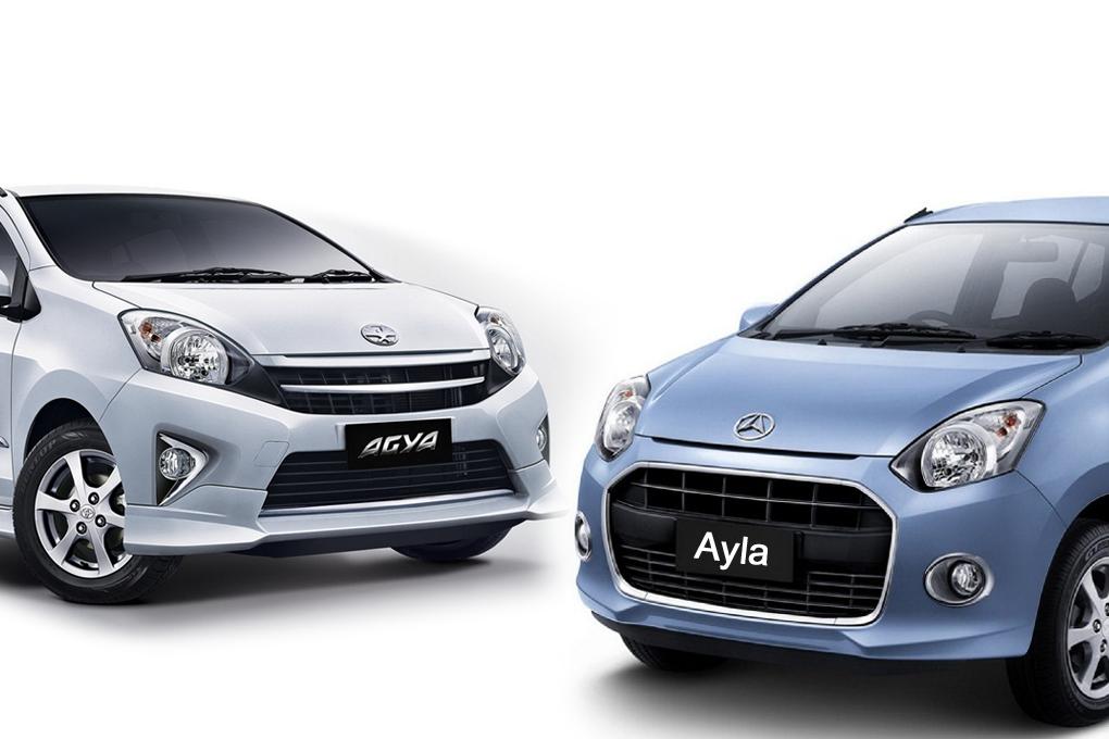 Kelebihan dan Kekurangan Mobil Toyota Agya dan Daihatsu Ayla