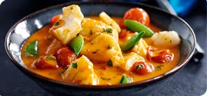 Thai red fish curry for just 2 syns per portion