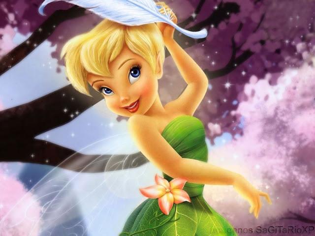 Tinker Bell Jugueteando_Wallpaper