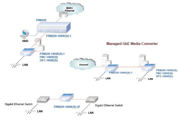 Sơ đồ bộ chuyển đổi quang điện FRM220-1000ES1
