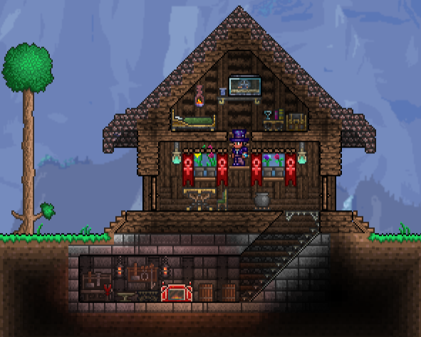 Top 10 best terraria structure ideas for Terraria house designs