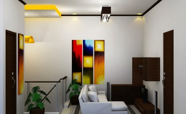 Lampu hias ruang tamu