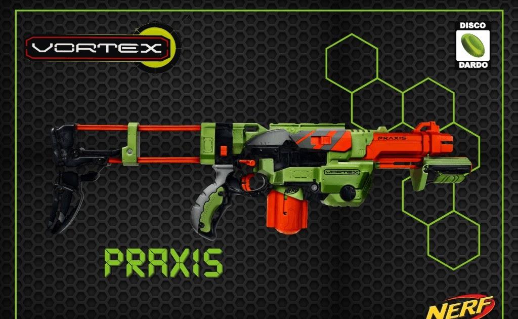 Vortex Praxis Nerf Project