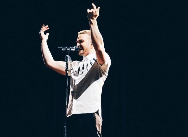 Justin Timberlake in Neil Barrett - Istanbul Concert