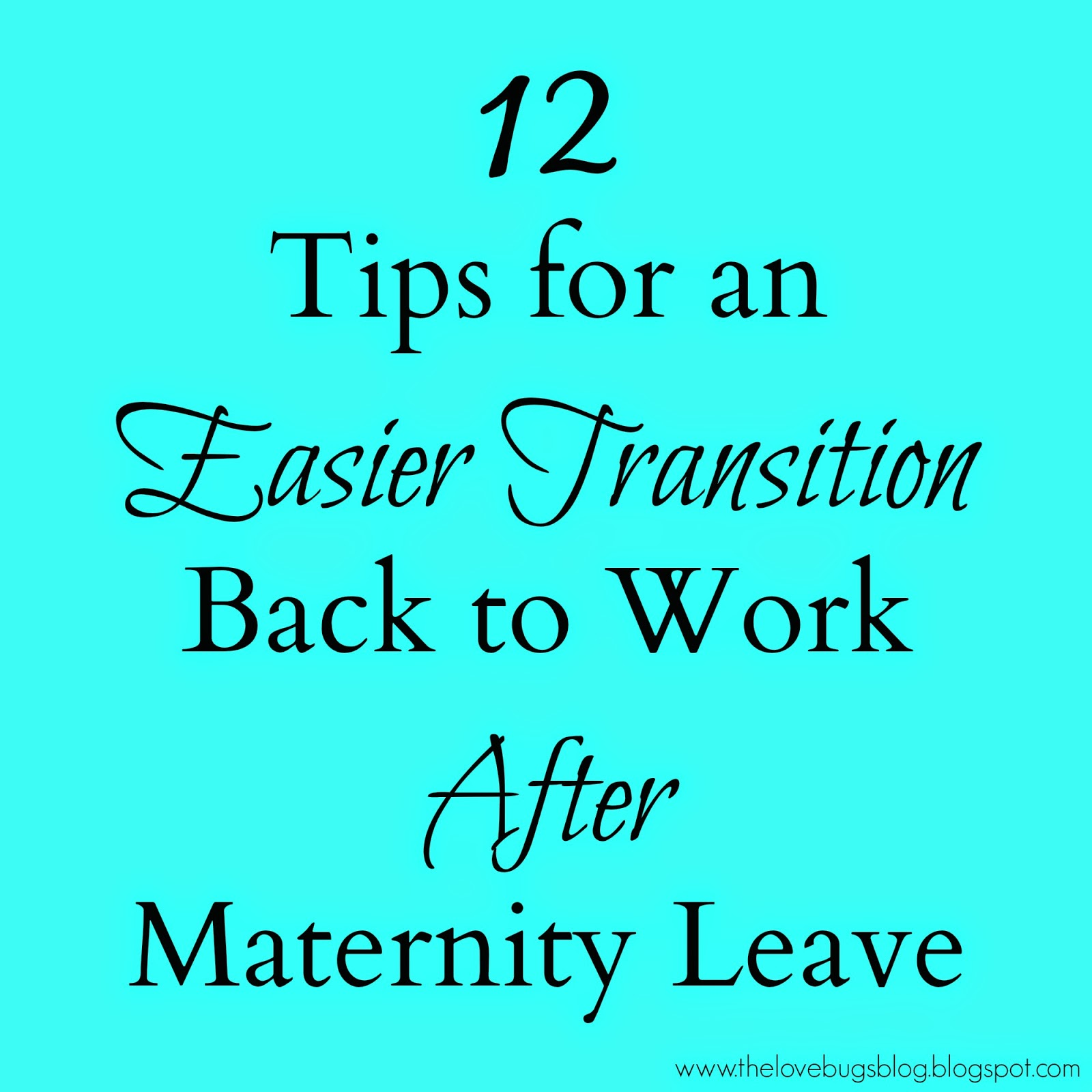 Welcome Back To Work After Maternity Leave Work after maternity leave