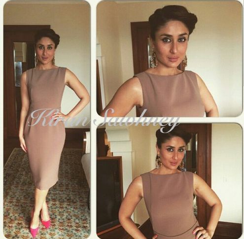 Kareena wearing Gauri and Nainika in Delhi.