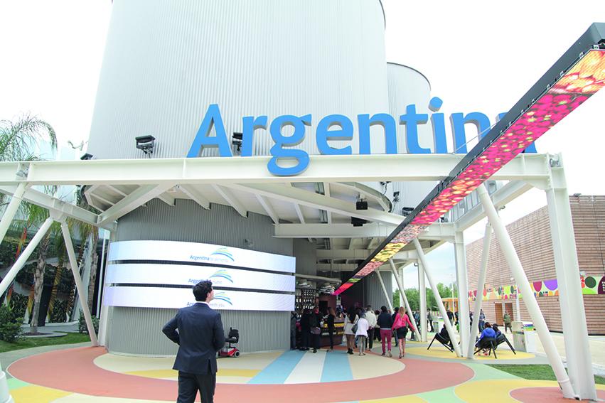 stand argentino feria milan