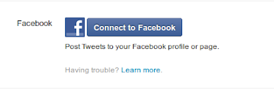 Connect Twitter With Facebook