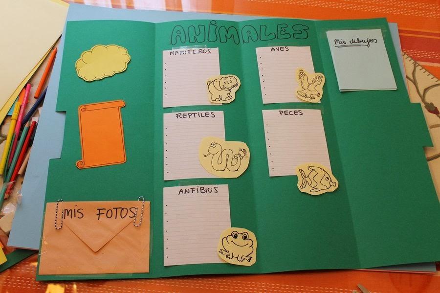 Maestra de primaria c mo hacer un lapbook paso a paso for 1 cuarto de cartulina
