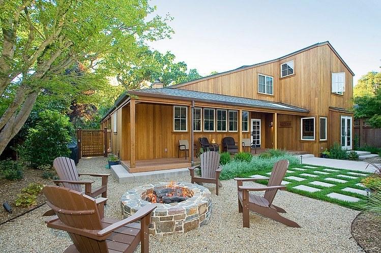 desain rumah kayu cantik nan mewah di california rumah