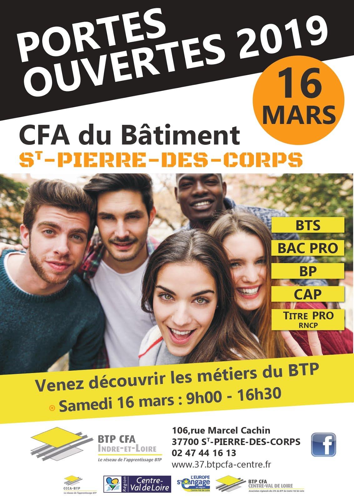 PORTES OUVERTES 2019 CFA DU BÂTIMENT