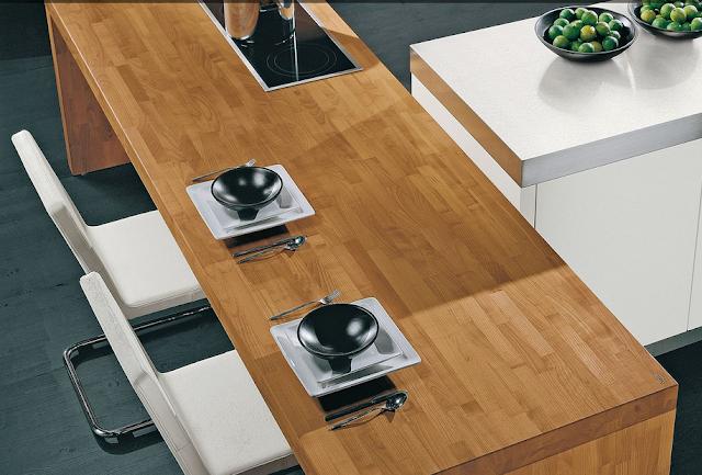 Abril 2013 cocinas con estilo - Encimera madera cocina ...