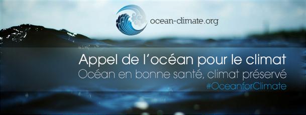 Appel de l 'océan pour le climat