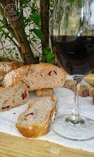 Vörösboros-vörös áfonyás kenyér