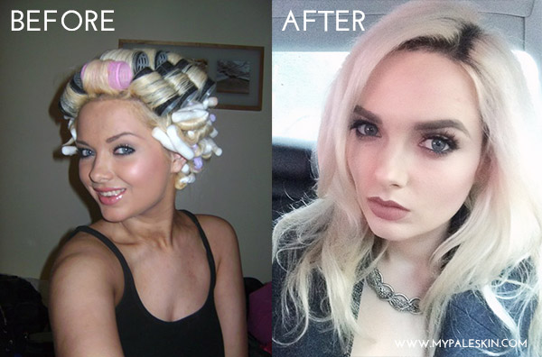 pale skin, before and after, fake tan, love, my pale skin, pale skin blog,
