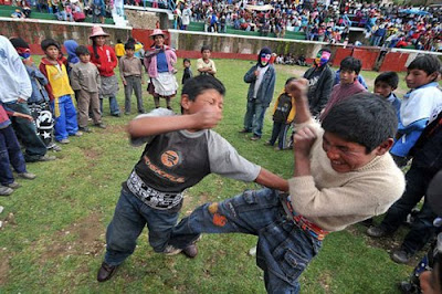 Takanakuy- The Fighting Festival of Peru