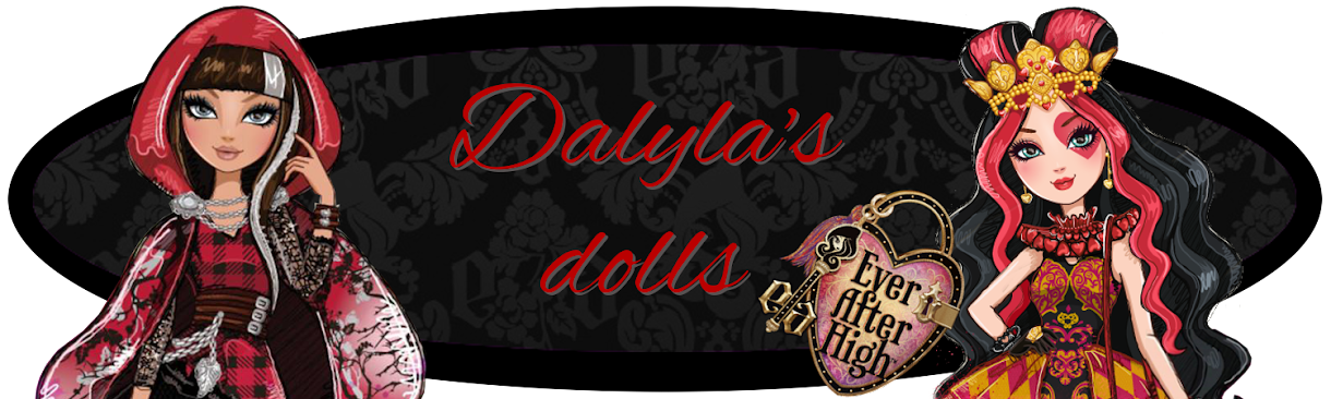 Ever After High - Dalyla's dolls