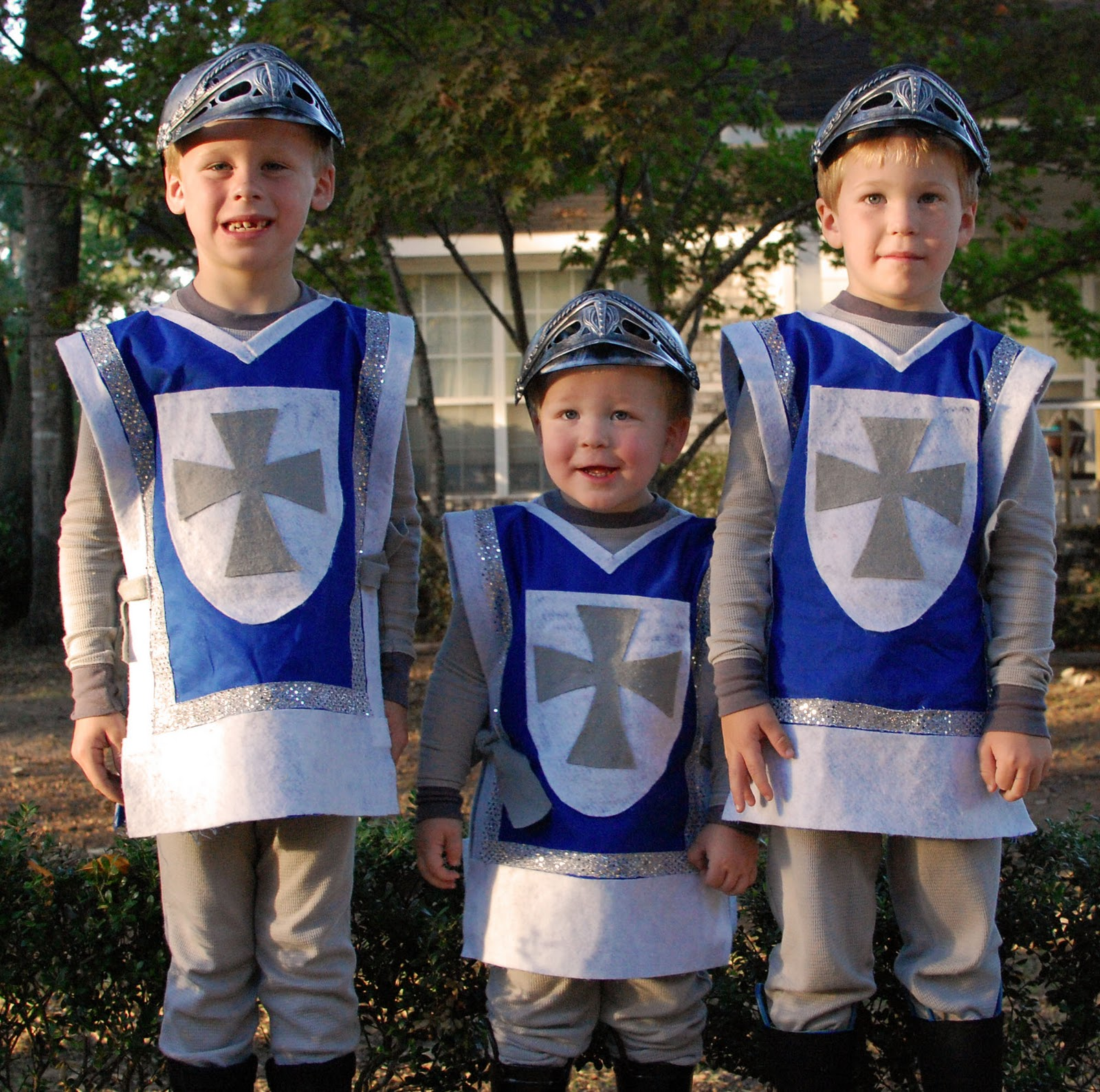 Homemade Knights Costume