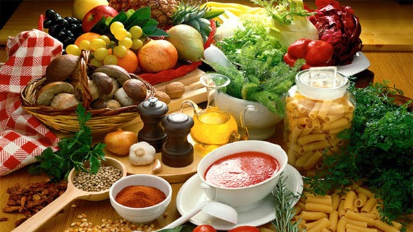 Health vegetarian diet