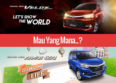 Toyota Grand New Veloz atau Toyota Grand New Avanza