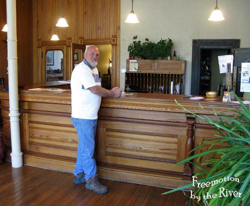 Checking in at the Bonaparte Inn