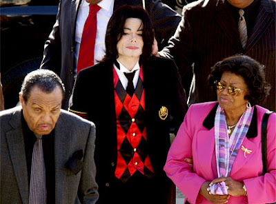 Michael Jackson parents image