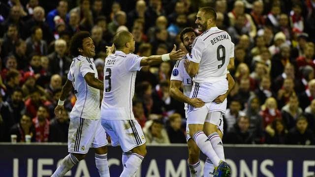 ريال مدريد يفوز على ليفربول 3-0
