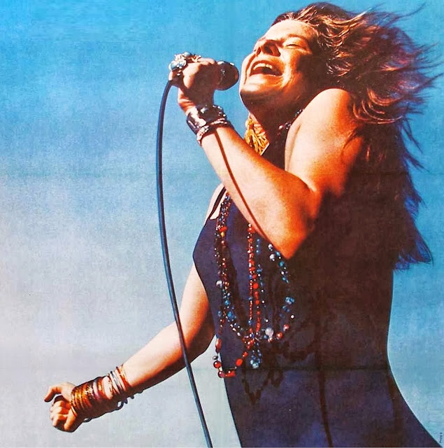 Janis Joplin on stage!