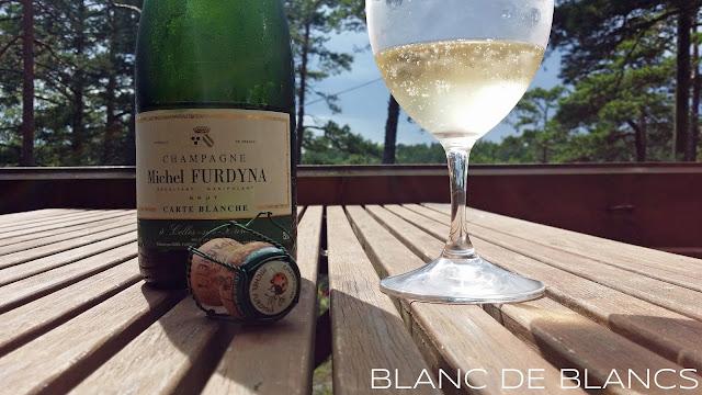 Michel Furdyna Carte Blanche Brut - www.blancdeblancs.fi