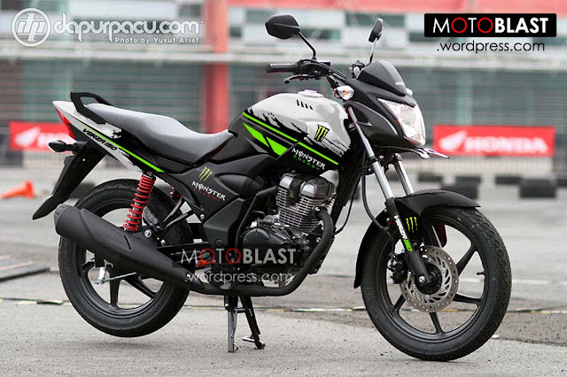 Foto Modifikasi Honda Verza Monster Energi 2015