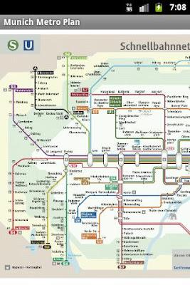 München Metro Plan