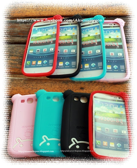 Android Silicon Back Cover Case Samsung Galaxy S3 ~ i9300